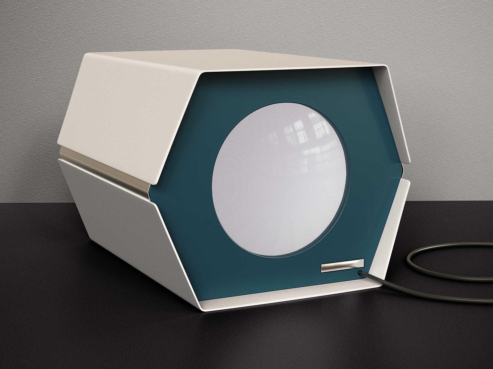 Monitor I 01, CGI Fine Art Print, 39 x 52 cm, 2013