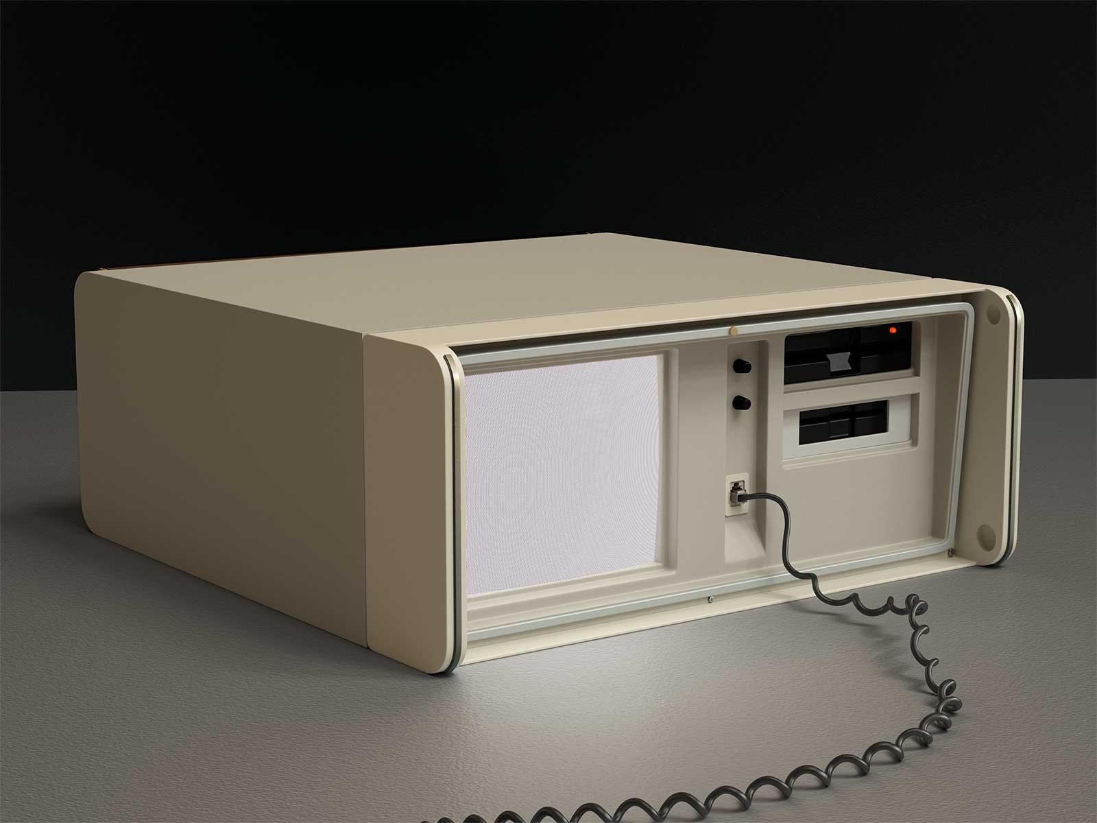 Monitor I 02, CGI Fine Art Print, 39 x 52 cm, 2013