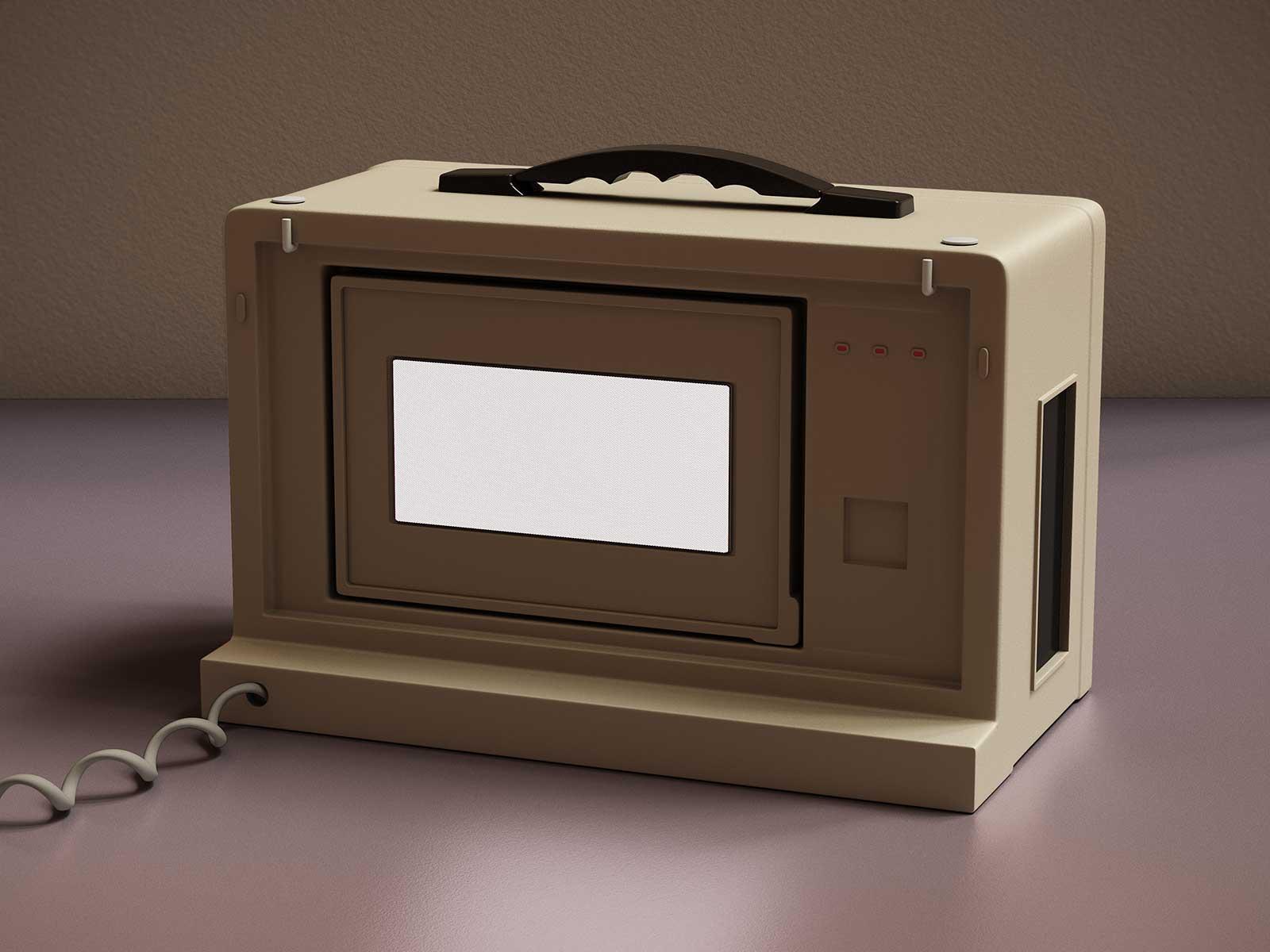 Monitor I 09, CGI Fine Art Print, 39 x 52 cm, 2013