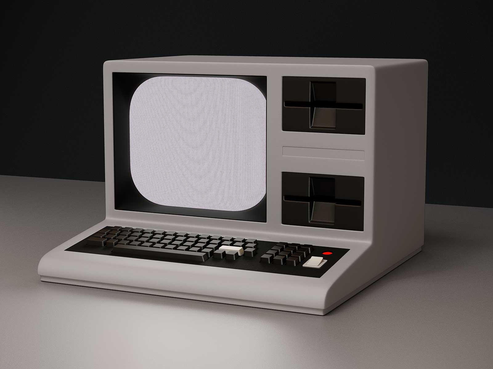 Monitor I 06, CGI Fine Art Print, 39 x 52 cm, 2013