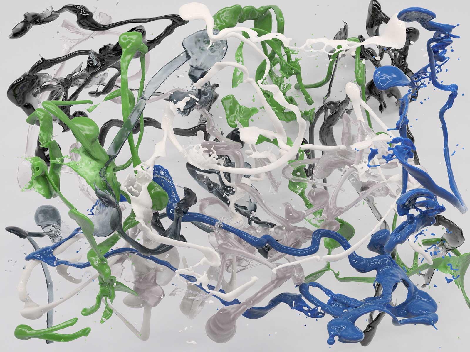 Bodypaint V 08, CGI Fine Art Print, 150 x 200 cm, 2019
