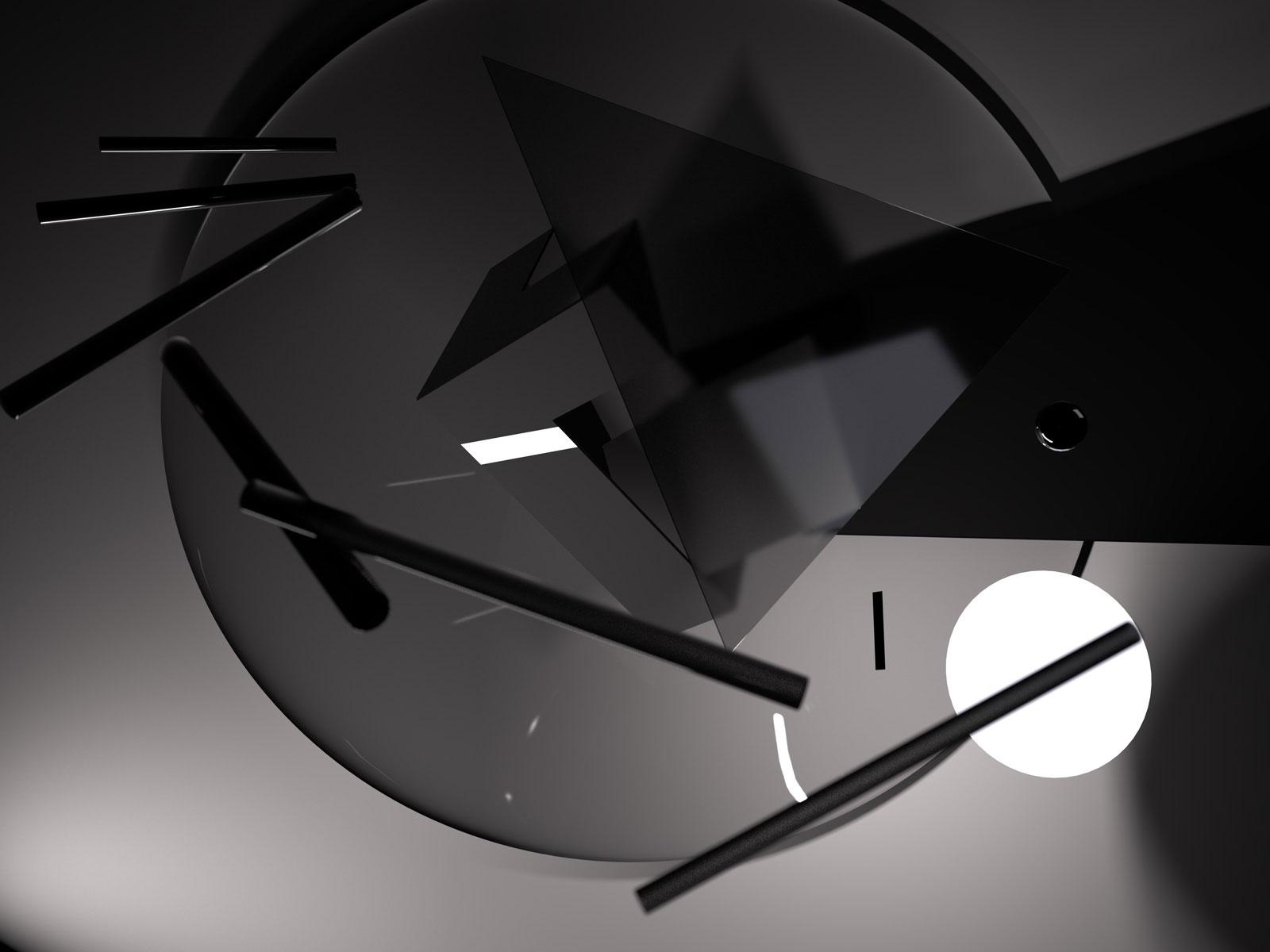 Composition II 02, CGI Fine Art Print, 64 x 86 cm, 2012