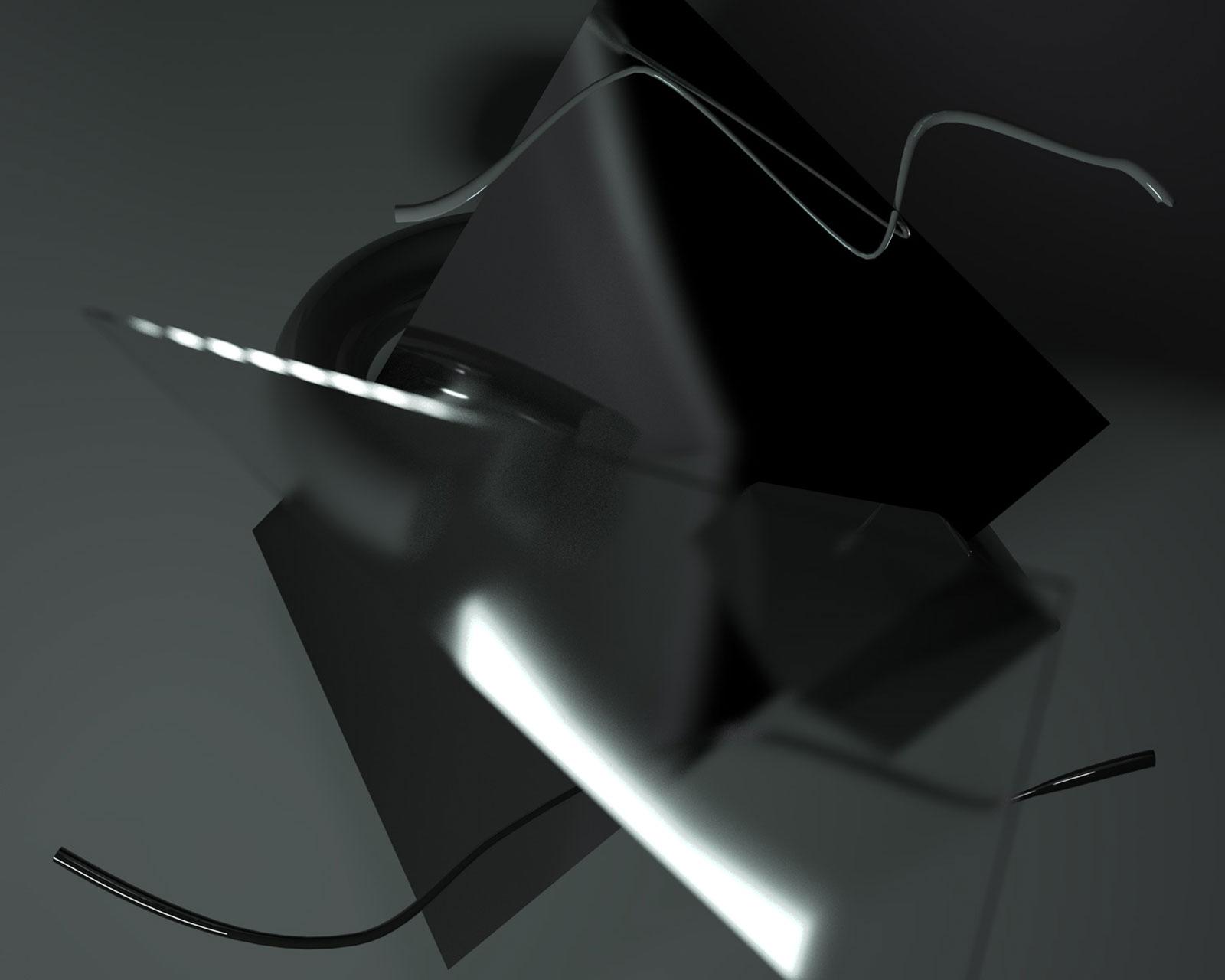 Composition II 03, CGI Fine Art Print, 50 x 62 cm, 2012