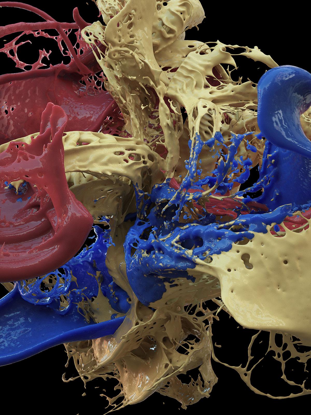 Postpainting II 02, CGI Fine Art Print, 160 x 120 cm, 2013