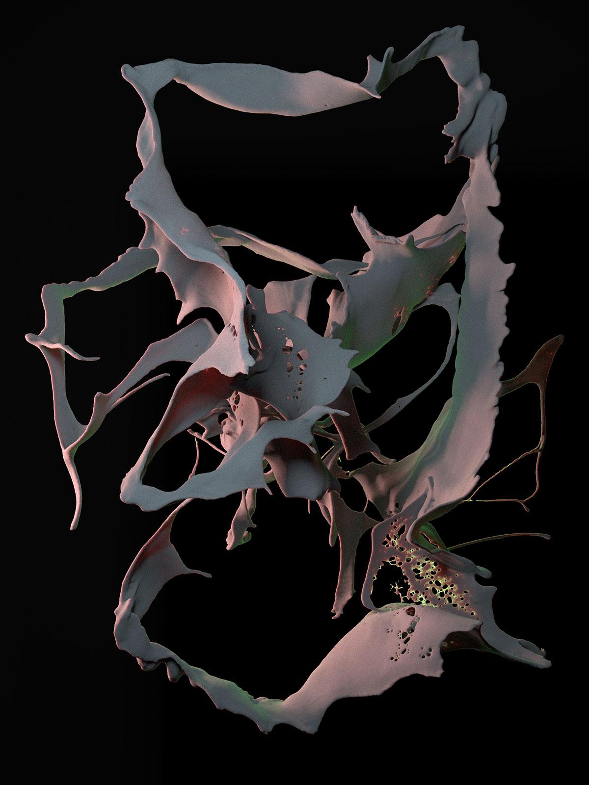 Postpainting II 04, CGI Fine Art Print, 155 x 118 cm, 2013