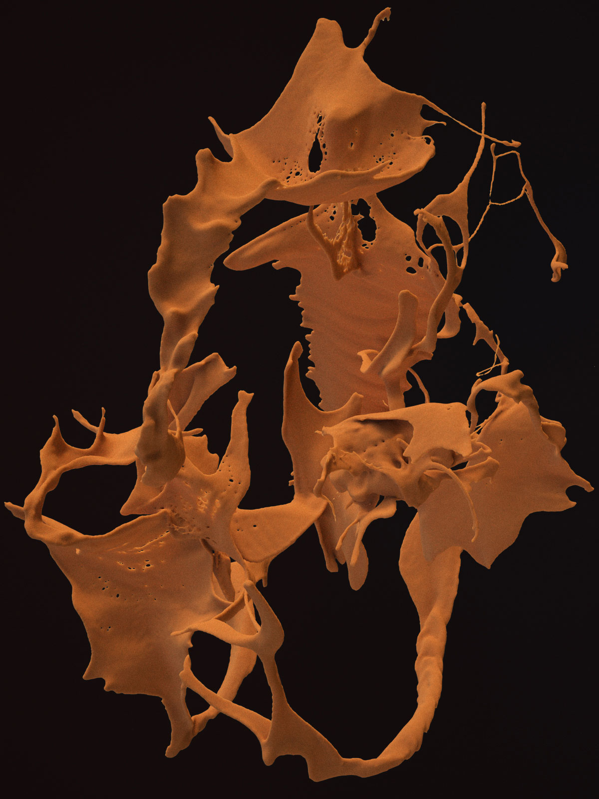 Postpainting II 05, CGI Fine Art Print, 155 x 118 cm, 2013