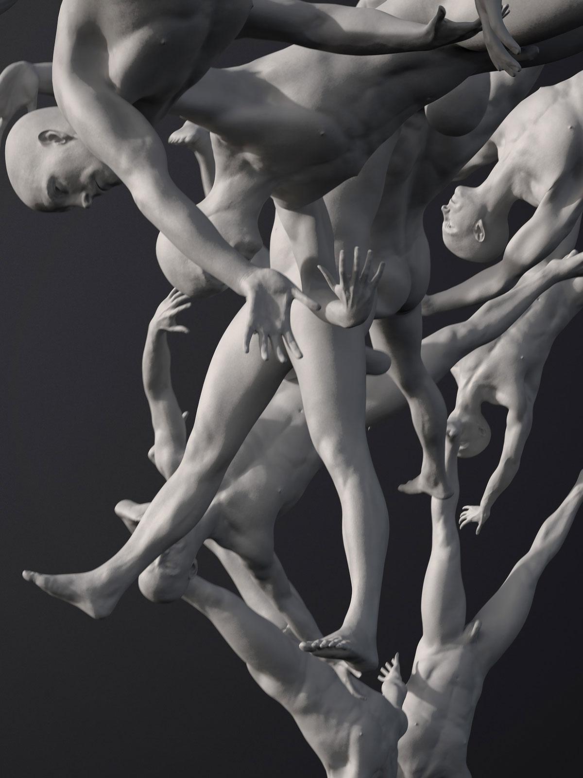 Palo Alto, Avatar I, CGI Fine Art Print, 140 x 105 cm, 2018