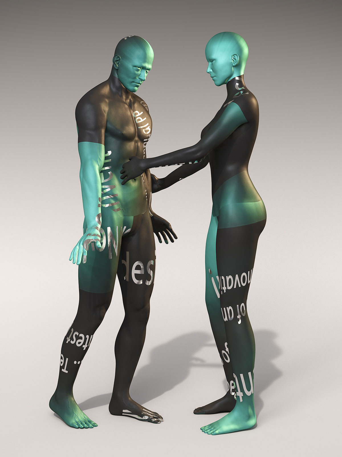 Palo Alto, Avatar III, CGI Fine Art Print, 140 x 105 cm, 2018