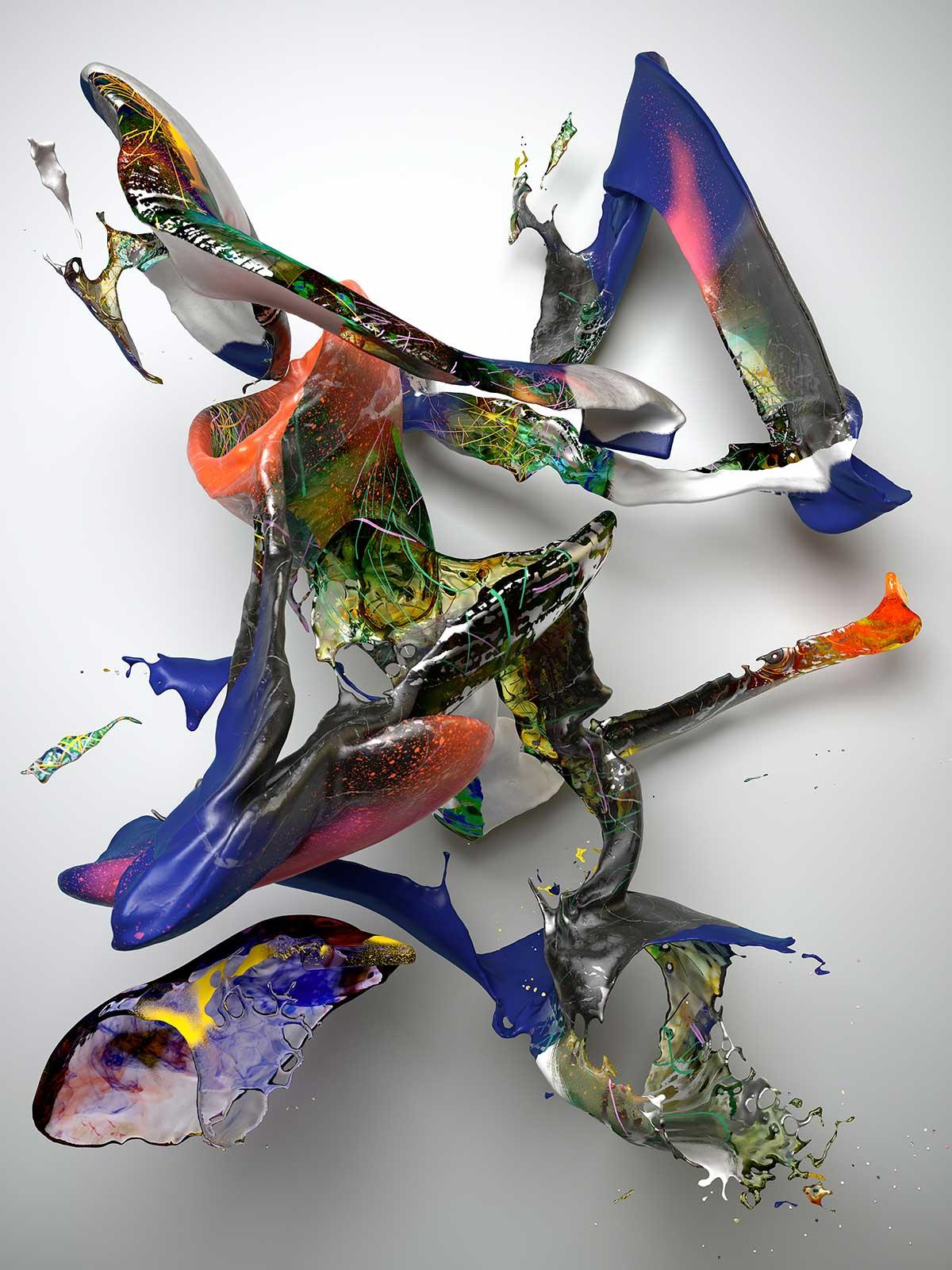 Substance I 01, CGI Fine Art Print, 200 x 150 cm, 2017