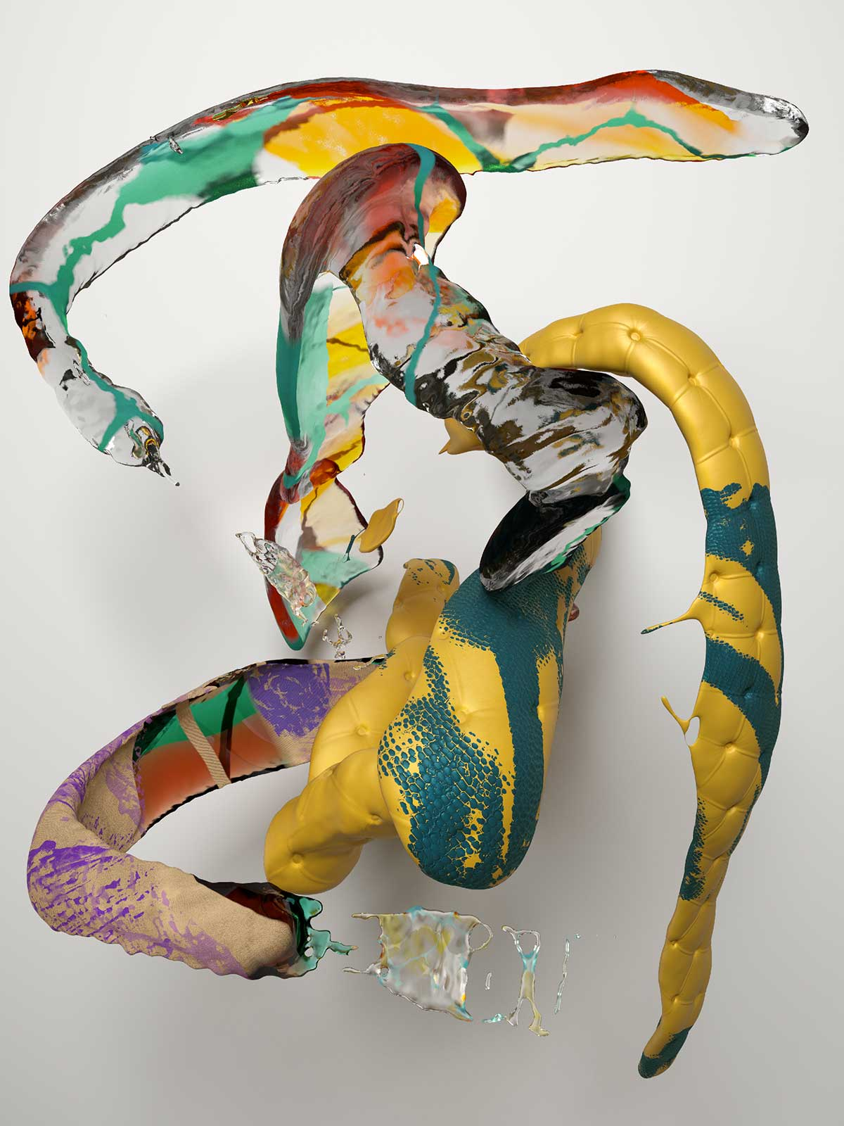 Substance I 02, CGI Fine Art Print, 140 x 105 cm, 2017