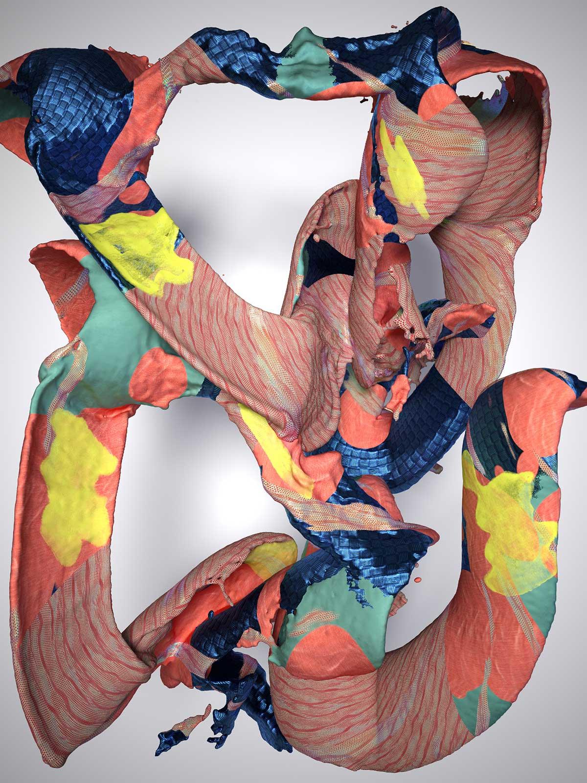 Substance I 05, CGI Fine Art Print, 140 x 105 cm, 2017