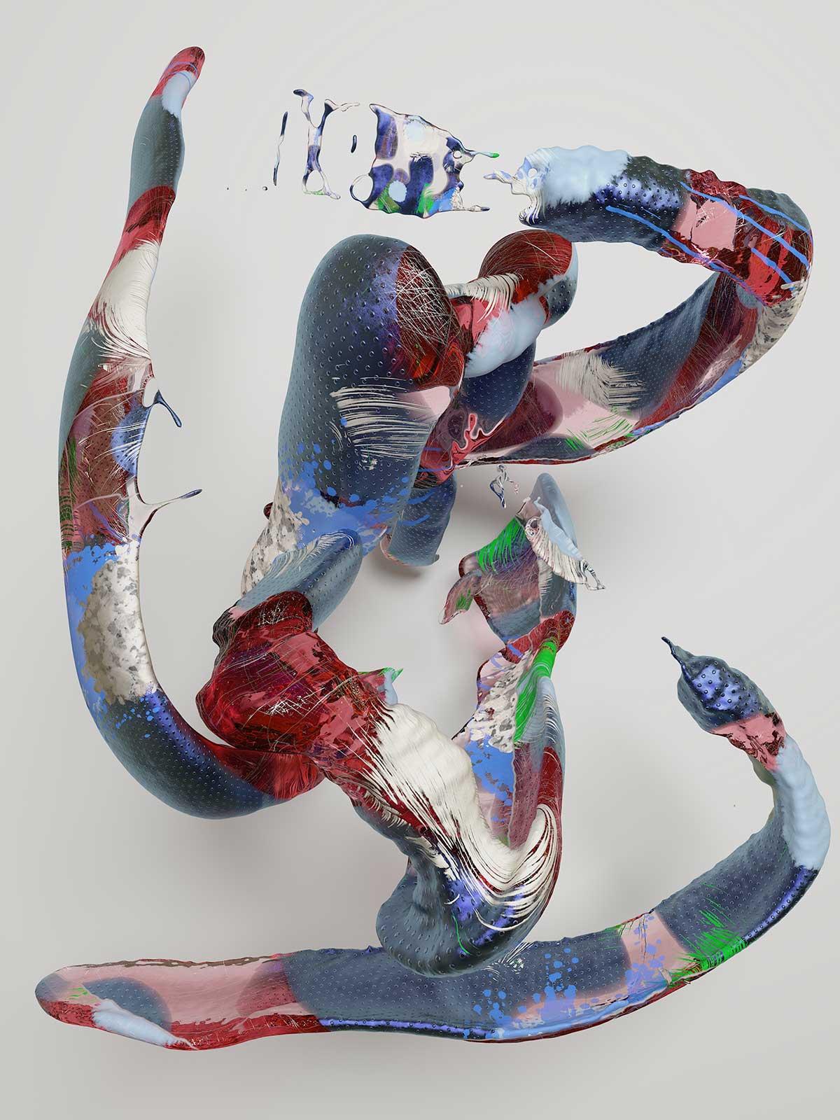 Substance I 08, CGI Fine Art Print, 140 x 105 cm, 2017
