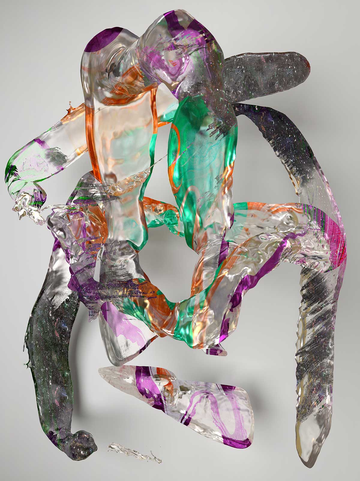Substance I 09, CGI Fine Art Print, 140 x 105 cm, 2017