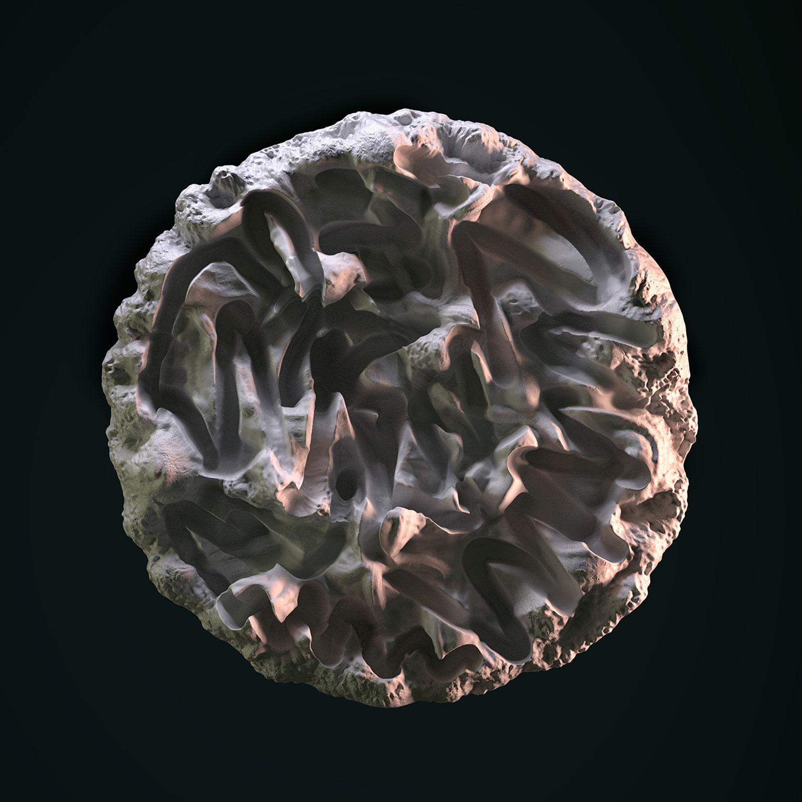 Surface I 03, CGI Fine Art Print, 110 x 110 cm, 2012