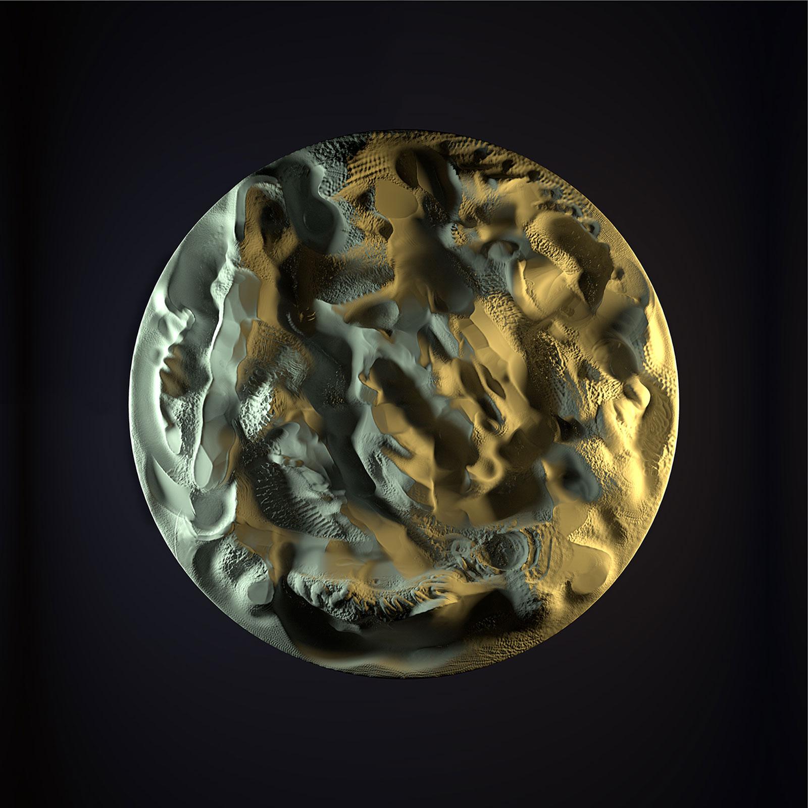 Surface I 04, CGI Fine Art Print, 110 x 110 cm, 2012