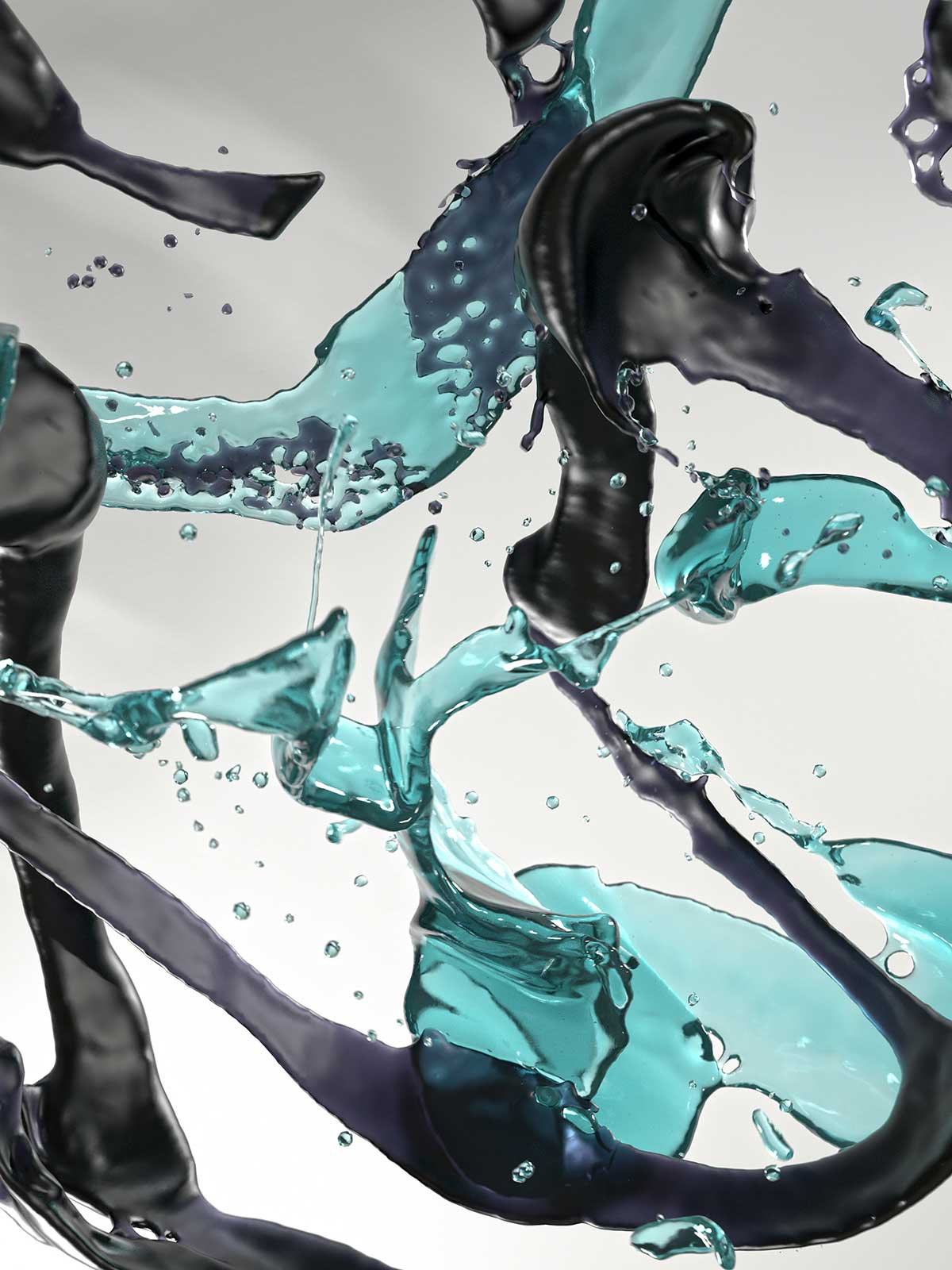 Bodypaint IV 07, CGI Fine Art Print, 108 x 81 cm, 2016
