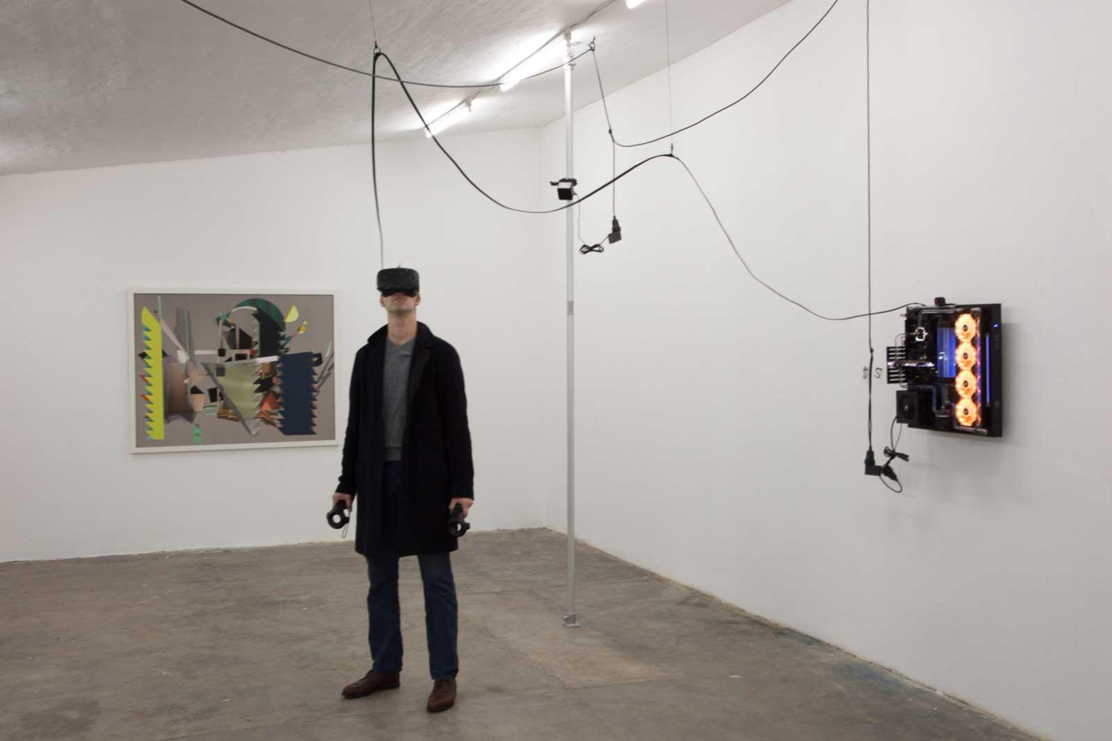 VR 01 Mercury, Parkhaus im Malkastenpark, Exhibition View