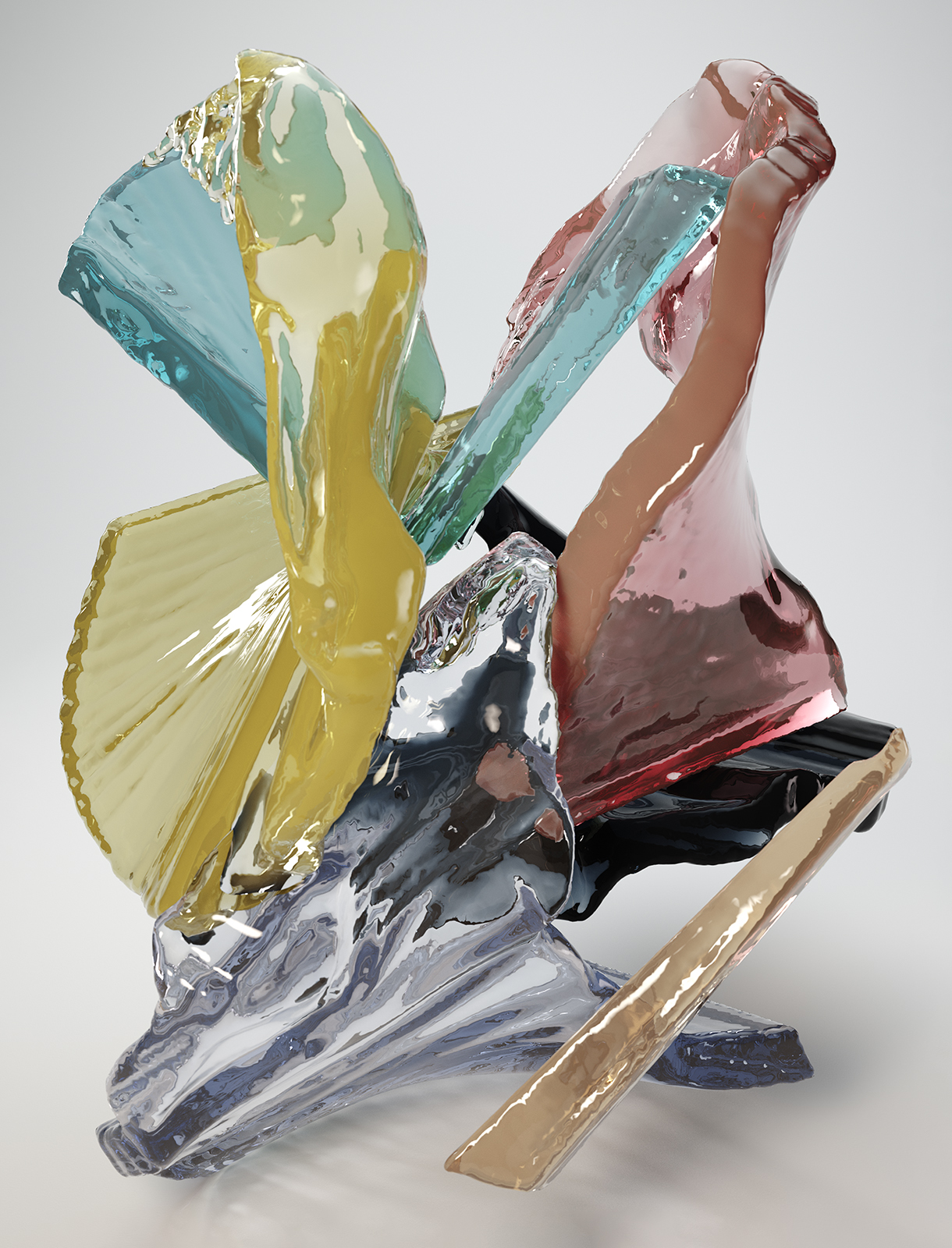 Bodypaint I 11, CGI Fine Art Print, 180 x 135 cm, 2014