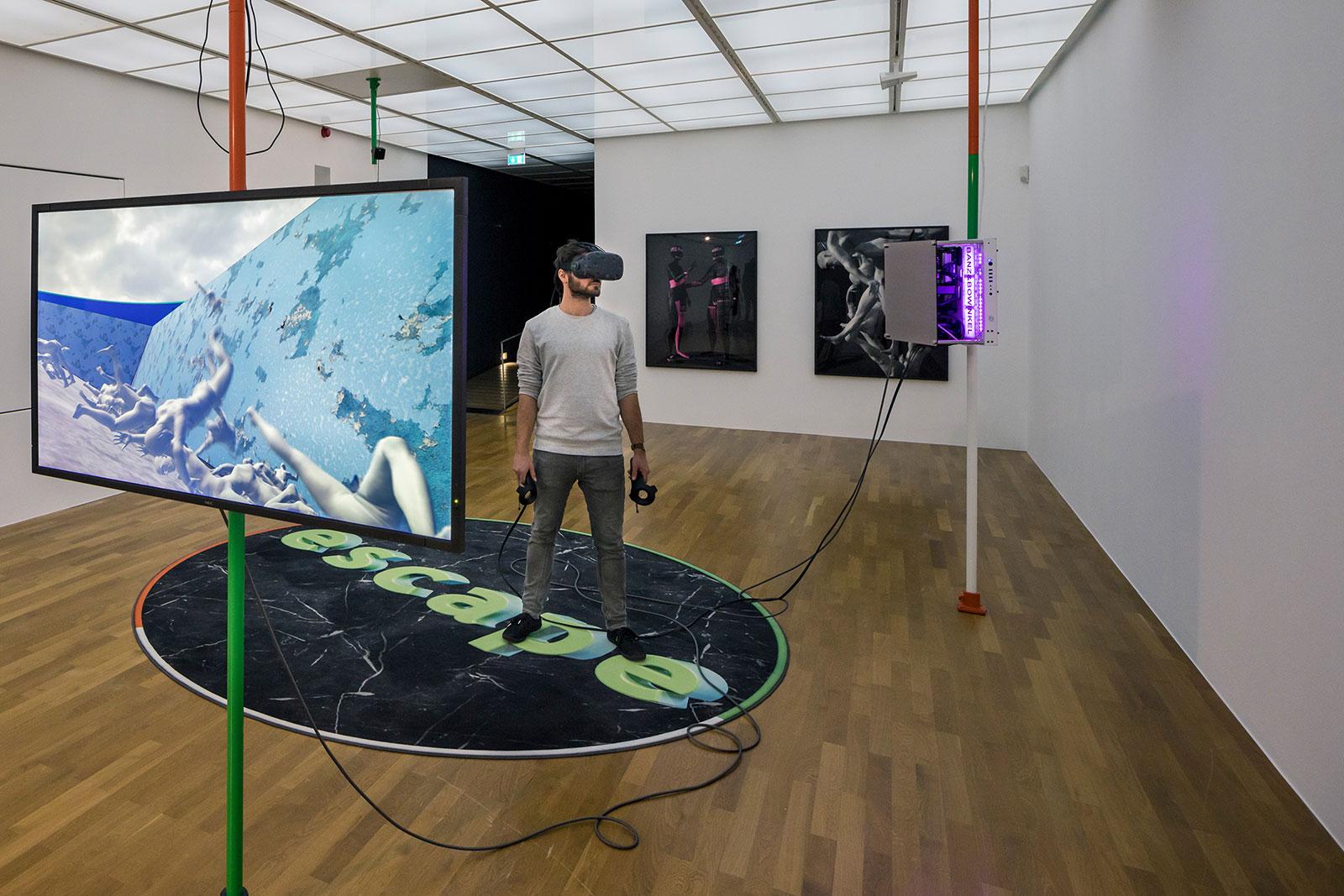 Palo Alto, VR-Installation, 2017 Zeppelin-Museum, Foto Tretter
