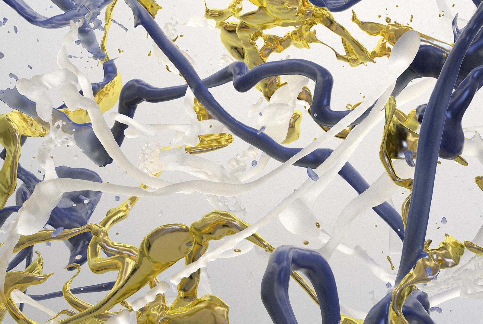 Bodypaint V 22, CGI Fine Art Print, 70 x 105 cm, 2020