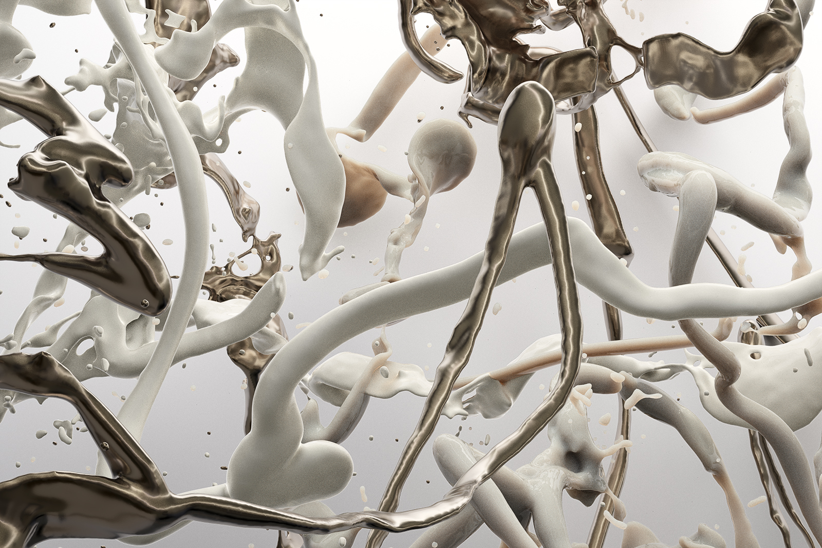 Bodypaint V 24, CGI Fine Art Print, 70 x 105 cm, 2020
