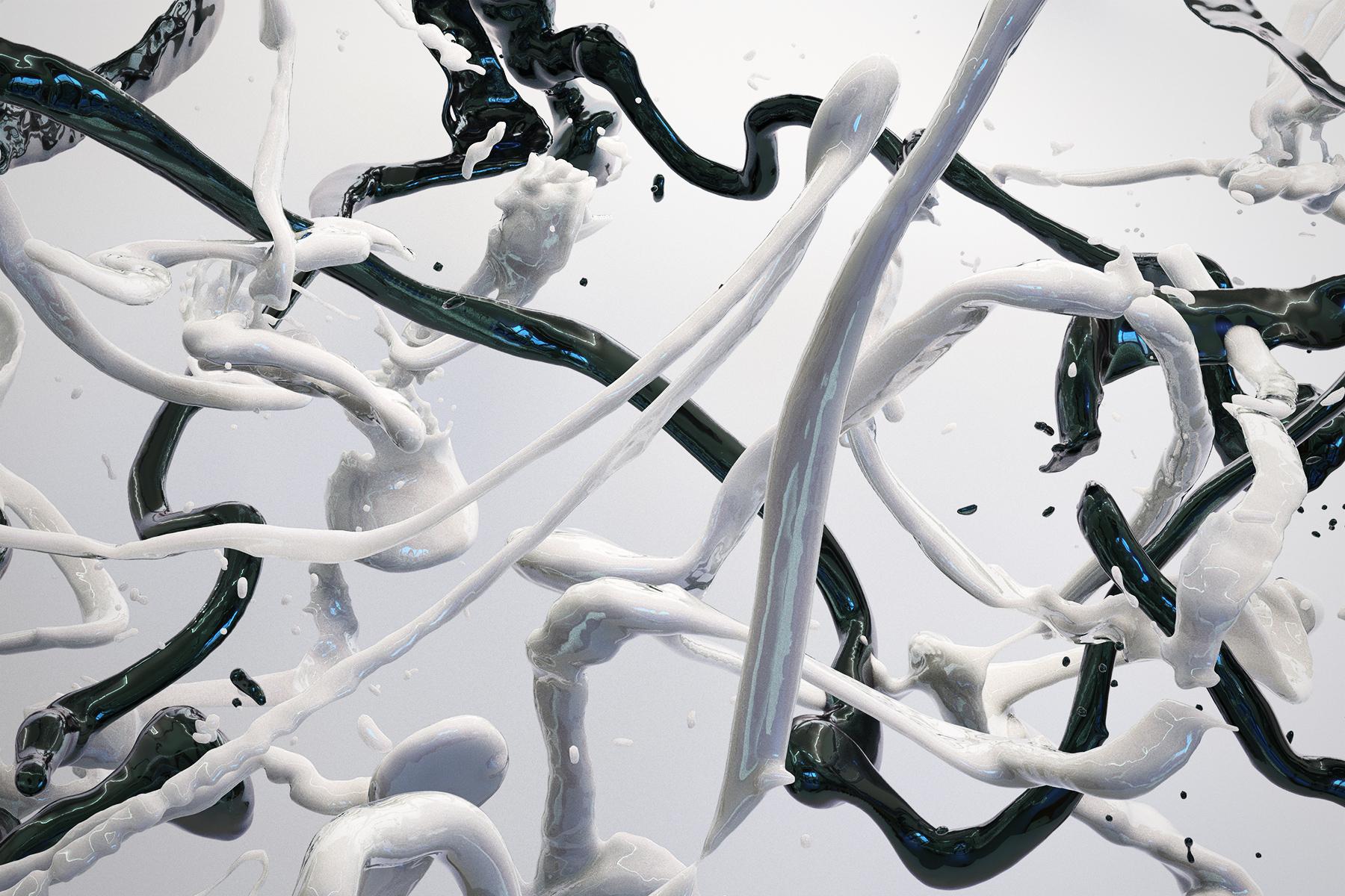 Bodypaint V 28, CGI Fine Art Print, 70 x 105 cm, 2020