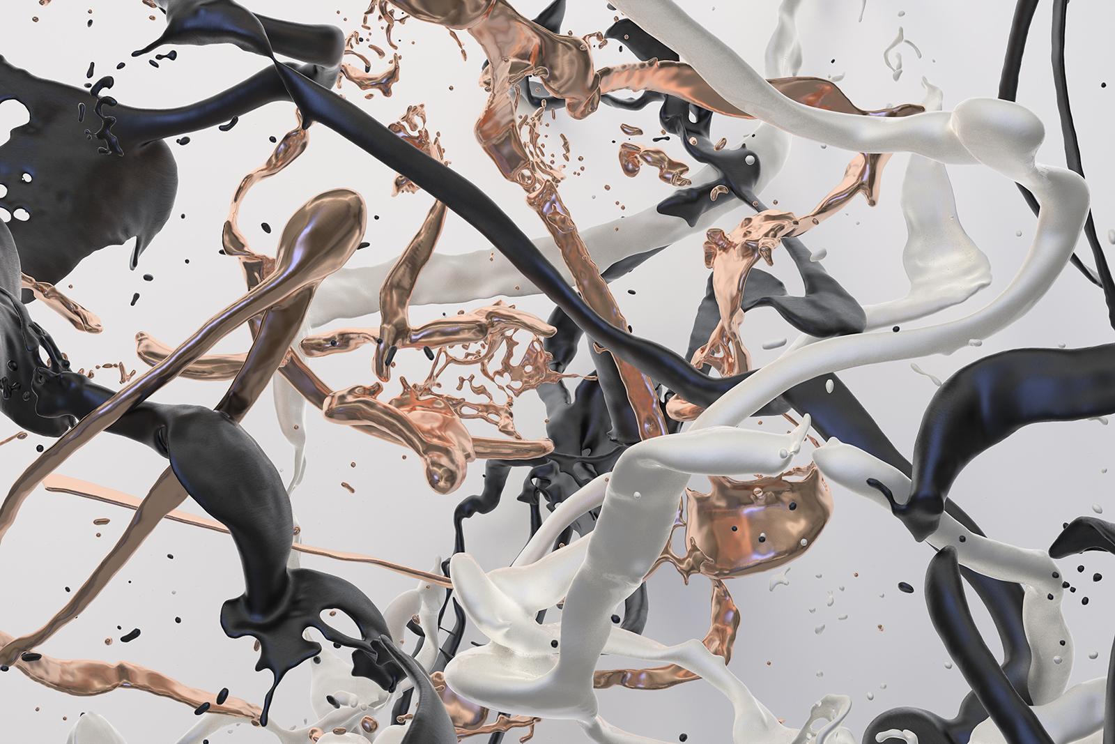 Bodypaint V 41, CGI Fine Art Print, 70 x 105 cm, 2020