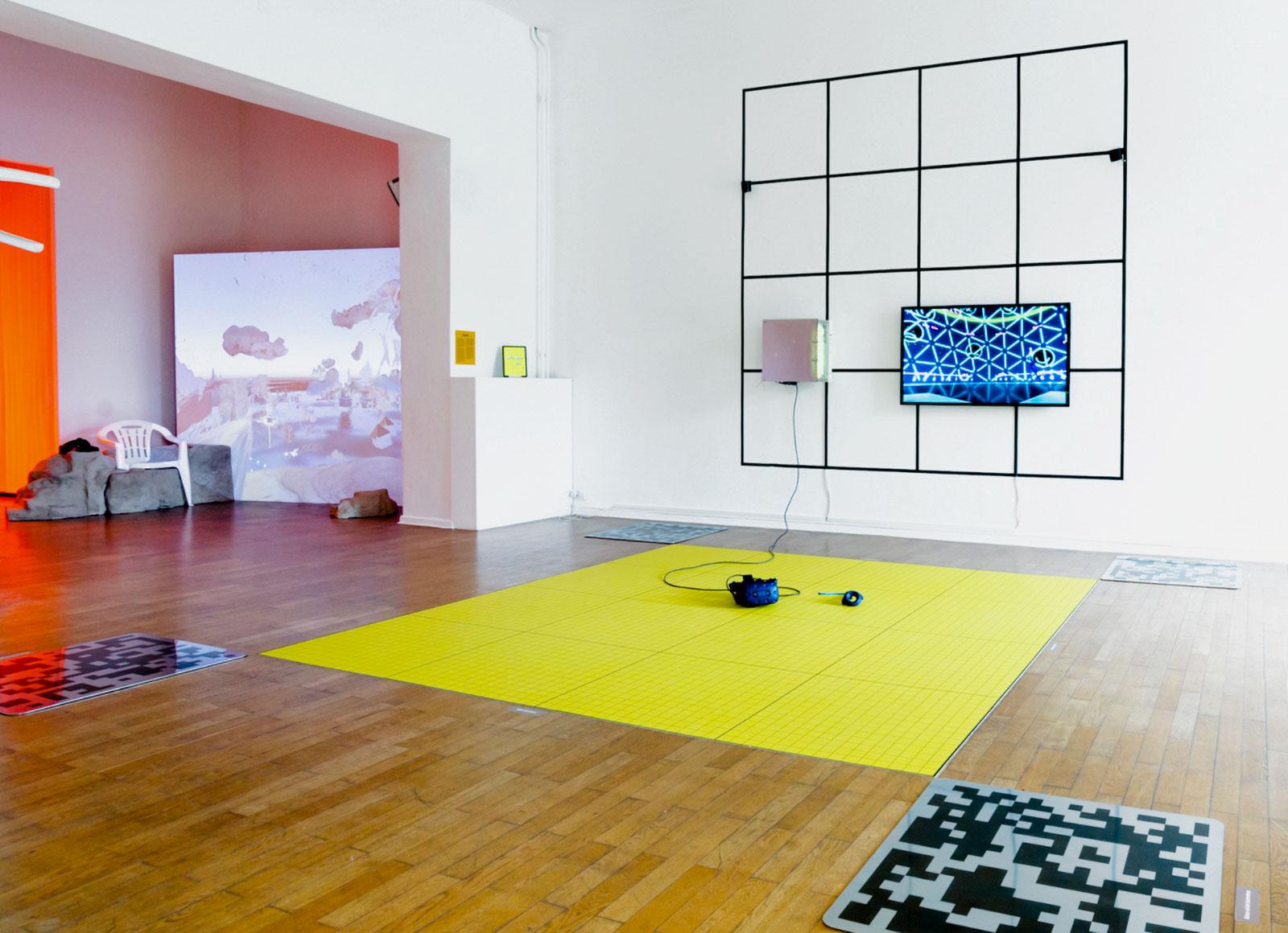 Poly Mesh, Installationview, 2021